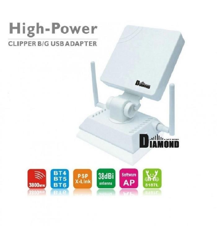 Антена усилвател за интернет с 3 антен 980000N