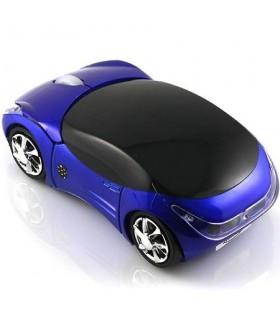 Мишка под формата на кола - Синя