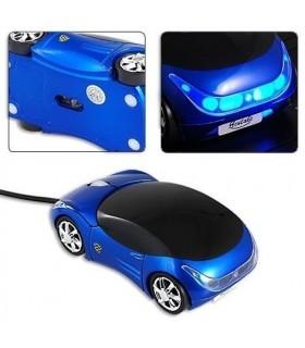 Мишка под формата на кола Синя модел 1