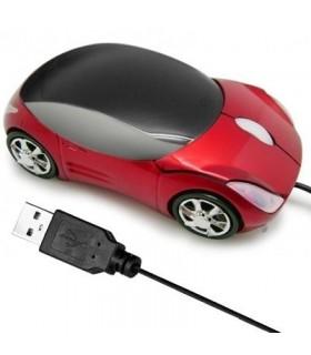 Мишка под формата на кола - Червена