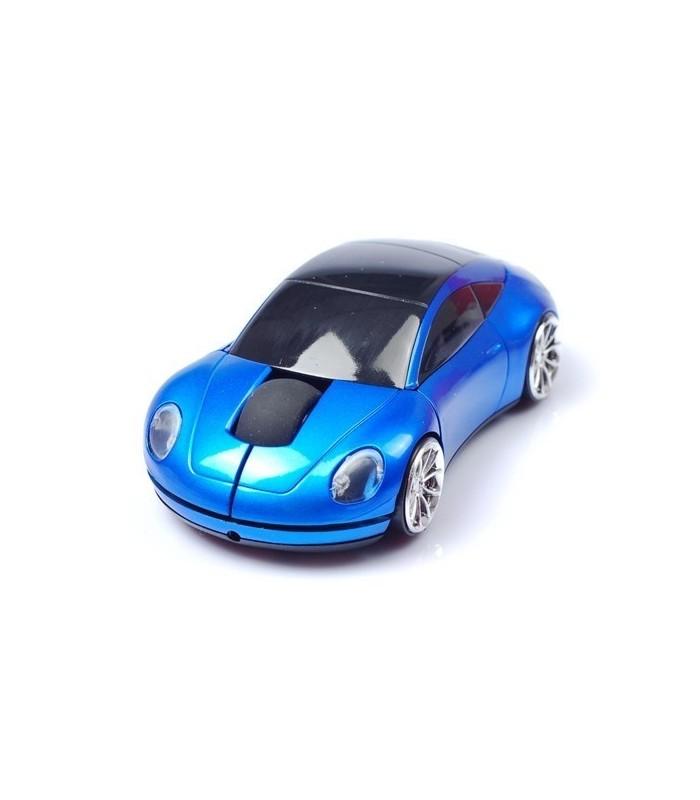 Мишка под формата на кола Порше - Синя