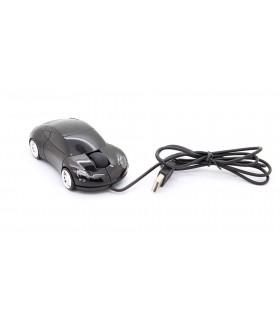 Мишка кола Порше - Черна