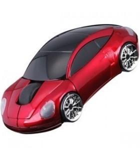 Мишка кола модел Порше - Червена