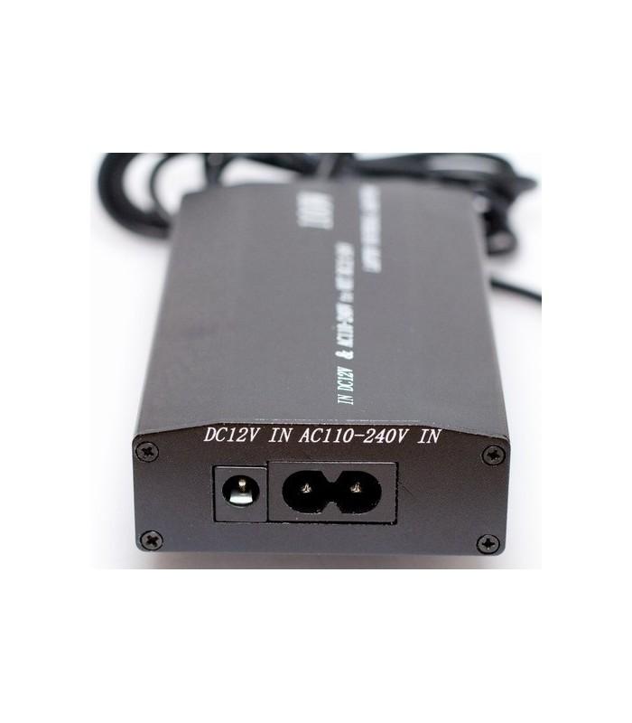 Универсално зарядно за лаптоп 100W + зарядно за кола