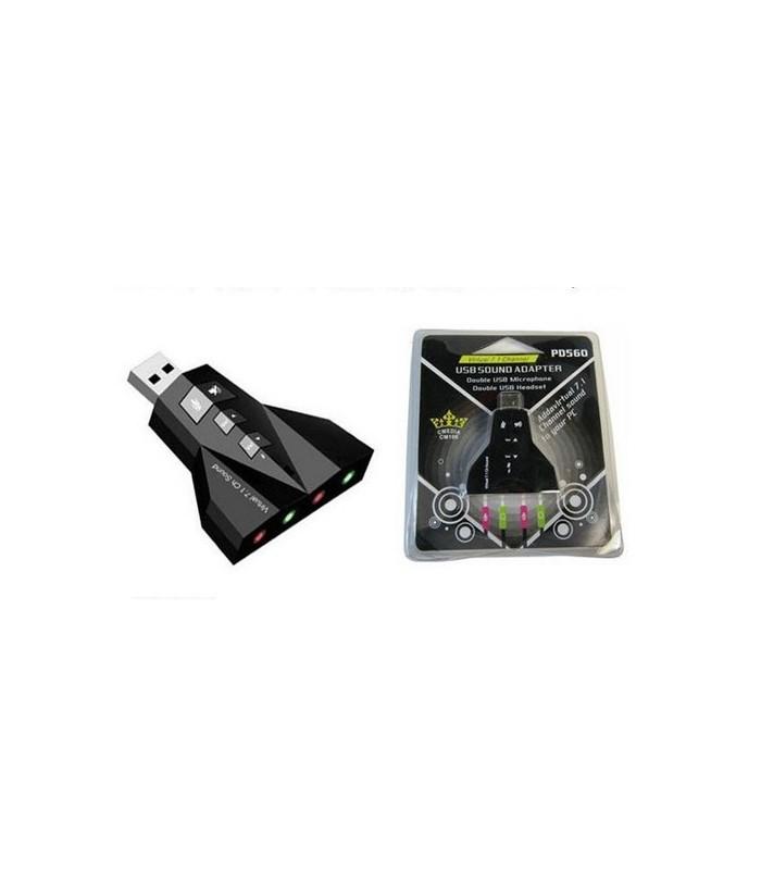 USB Звукова карта 7.1 с микрофон