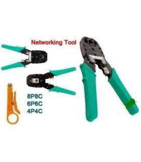 Клещи за кримпване на лан кабели