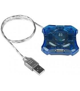 USB Разклонител 4-ка - пластмасов