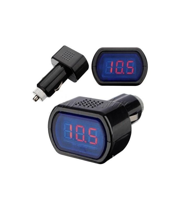 Дигитален волтметър за кола