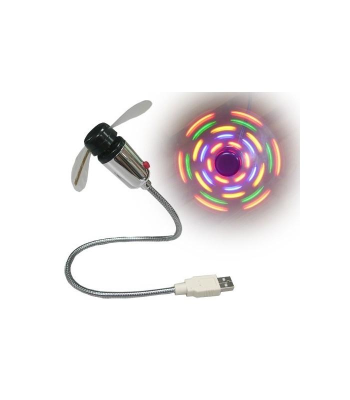 USB Вентилатор - Цветен
