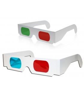3D Oчила - картонени