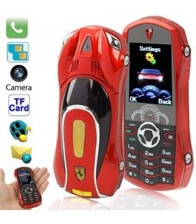 Телефон с форма на кола Ферари