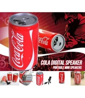 Мини тонколона и МР3 плейър в кутийка от Coca Cola