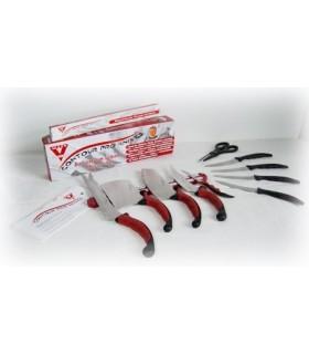Комплект Contour Pro Knives от 9 ножа + ножица + магнитна стойка