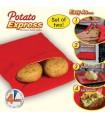 Печени картофи в микровълнова фурна
