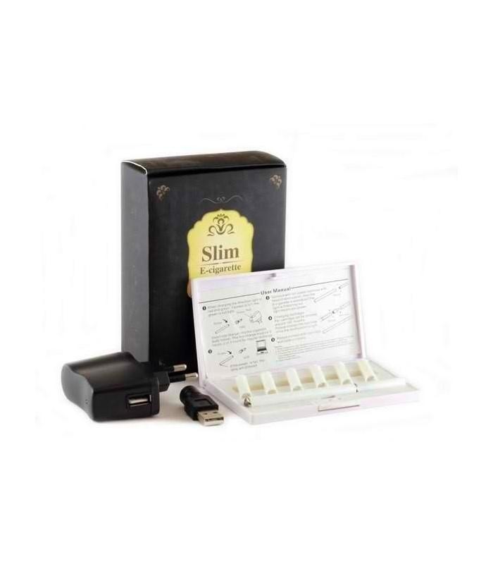 Електронна цигара слим - Бяла
