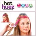 Боядисване на цветни кичури с Hot Huez