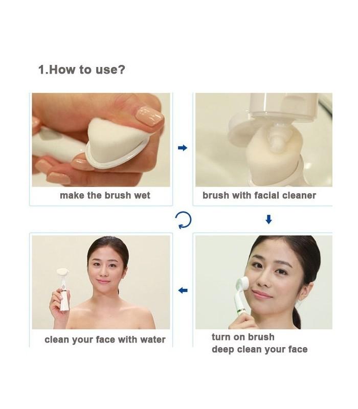 Уред за почистване на лице PoBling