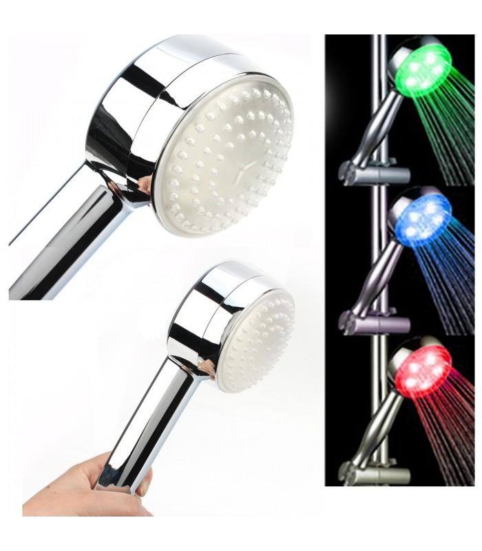 Светеща душ слушалка в 3 цвята МОДЕЛ 2