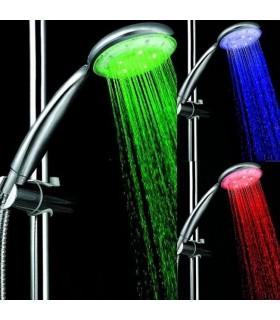 Светеща душ слушалка в 3 цвята - 808