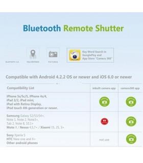 Bluetooth дистанционно за телефон за селфита