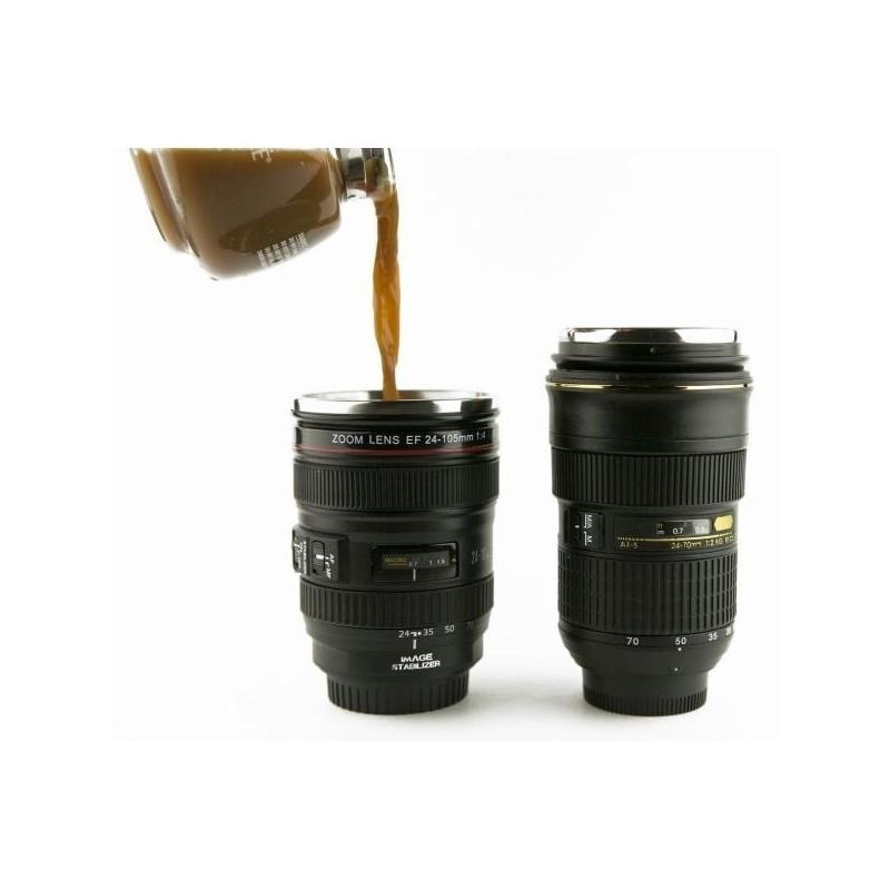 Чаша с форма на обектив