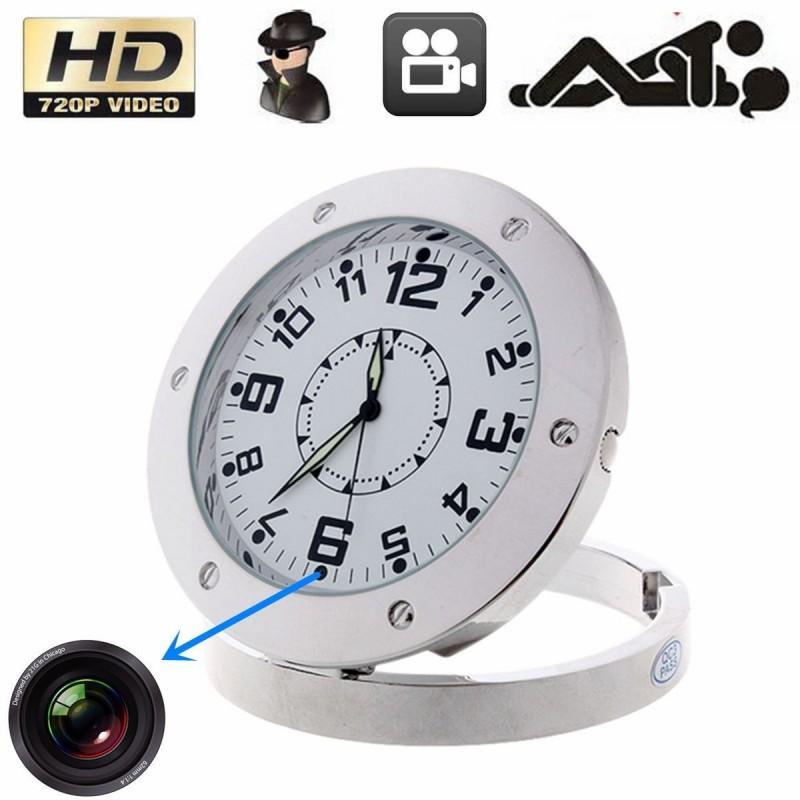 Скрита камера в настолен часовник