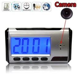 Скрита камера в настолен електронен часовник