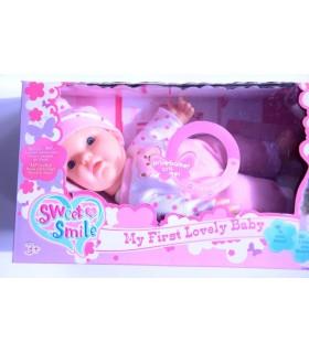 Пееща кукла бебе Sweet Smile