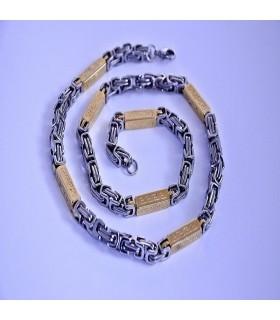 Ланец от медицинска стомана код 109