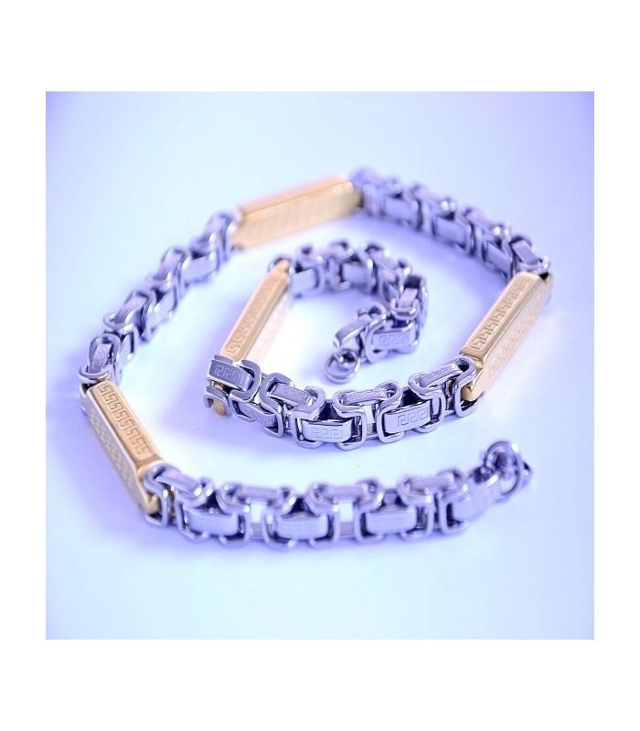 Ланец от медицинска стомана код 111