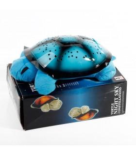 Нощна лампа костенурка проектираща съзвездия