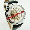 Елегантен часовник Gold Skeleton с видим механизъм