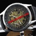 Елeгантен часовник Black Chrono - САМОНАВИВАЩ