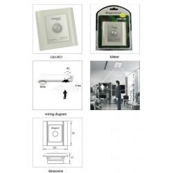 Ключ за осветление с датчик за движение