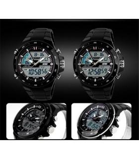 Мъжки часовник Dual Display - Водоустойчив 50М