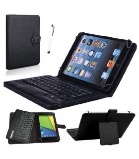 Bluetooth клавиатура за таблет с калъф