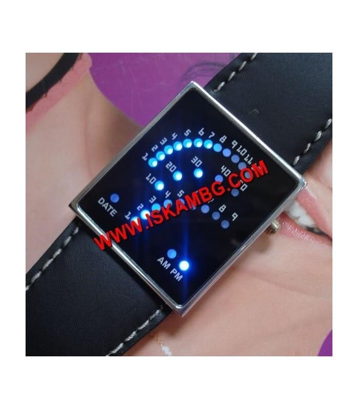 Уникален LED часовник с 29 светодиода