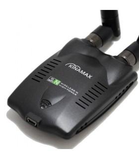 Адаптер Kinamax с 2 антени + диск за разбиване на пароли