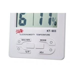Мултифункционален часовник с температура и влагомер
