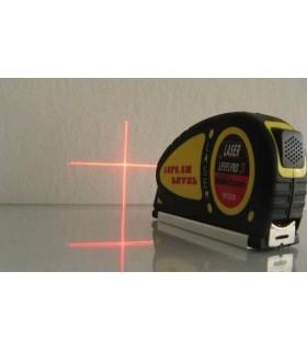 Лазерен нивелир с ролетка 5.5 метра