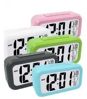 Дигитален LED часовник с аларма