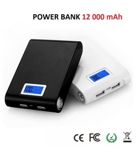 Power Bank 12000mAh с дисплей
