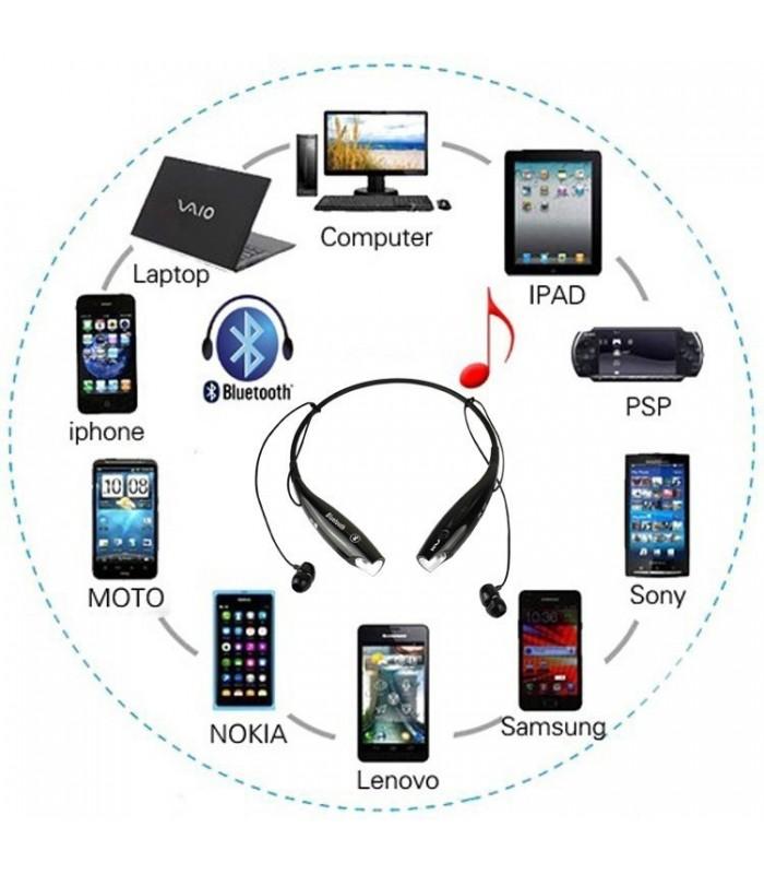 Бluetooth стерео слушалки LG