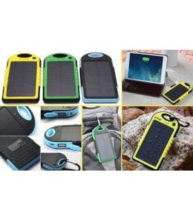 Водоустойчива соларна външна батерия Power Bank 5000mAh