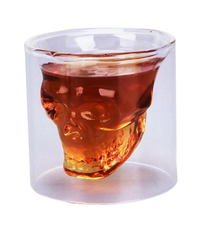 """Стъклена чаша """"Череп"""""""
