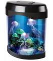 Нощна лампа аквариум с медузи