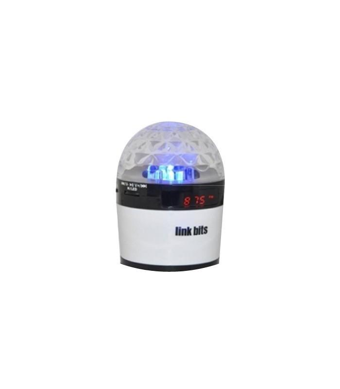 Портативен Speaker с LED / USB / TF / MP3, FM radio