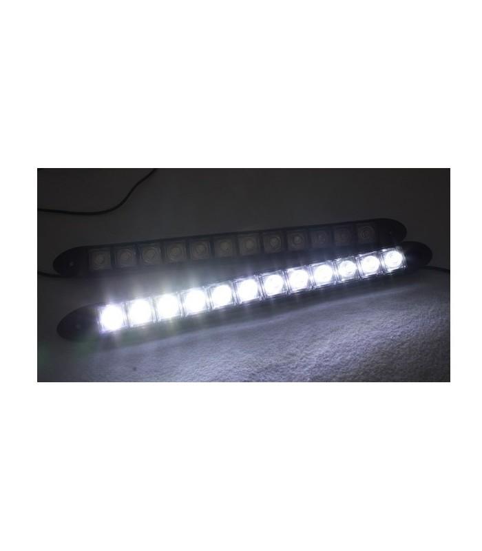 Диодни дневни светлини 12 диода - гъвкави