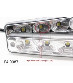 Дневни светлини DRL за коли 2х5 диода