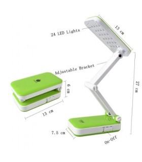 Сгъваема акумулаторна лампа с 24 диода